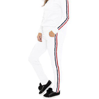 Buy WHITE XL Long Sleeve Sports Suit for $23.01 in GearBest store