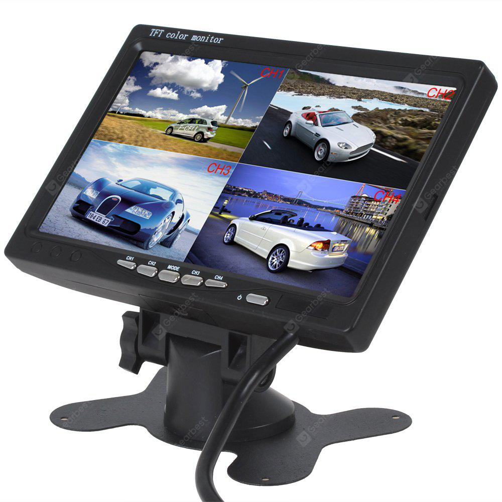 Image result for 7 inch 4 Split Quad Video Display TFT LCD Car Bus Monitor 12V-24V