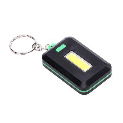 U'King ZQ-X1300  1000LM 3 Mode 8 LED COB Flashlight Lamp with Key Ring
