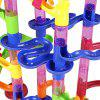 105PCS DIY Construction Marble Race Run Maze Balls Pipeline Type Track Building Blocks Baby Educational Block Toy For Ch - COLORMIX