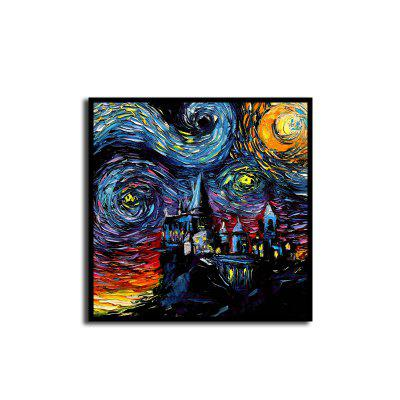 Unframed Abstract Canvas Art Print for Home Wall Decoration