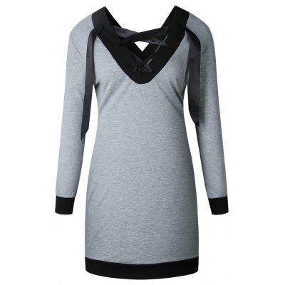 The New V Neck Band Is A Patchwork Dress