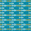 DSU Color Cute Fish Bone Pattern Style Stair Sticker Wall Decor LTT009 - COLORMIX