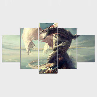 YSDAFEN Canvas Painting Home Decor Wall Pictures para Living Room 5 piezas