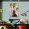 Hua Tuo Person Oil Painting Size 60 x 90CM HT-1537 - PURPLE