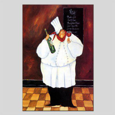 Hua Tuo Chef Oil Painting Size 60 x 90CM HT-1565