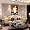 Hua Tuo Chef Oil Painting Size 60 x 90CM HT-1566 - WHITE