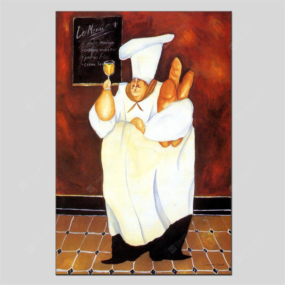 Hua Tuo Chef Oil Painting Size 60 x 90CM HT-1567