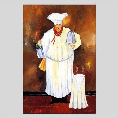 Hua Tuo Chef Oil Painting Size 60 x 90CM HT-1568