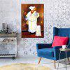 Hua Tuo Chef Oil Painting Size 60 x 90CM HT-1568 - WHITE