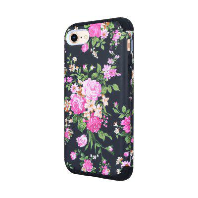 3 in 1 Hard PC with Soft Silicone Full Body Phone Case for iPhone 7 / 8
