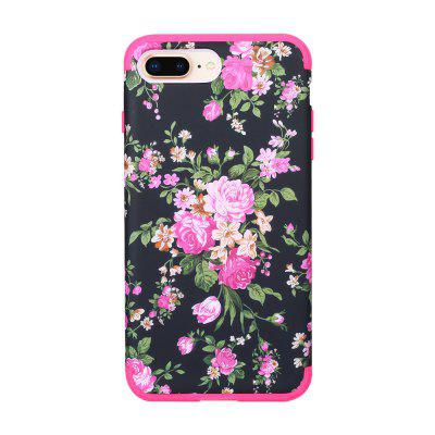 3 in 1 Hard PC with Soft Silicone Full Body Phone Case for iPhone 7 / 8 Plus