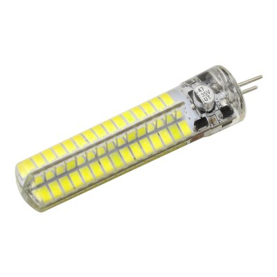 WeiXuan 5W 12V G4 SMD5730 Warm / Cold White High Bright Silicone LED Bi-pin Bulb