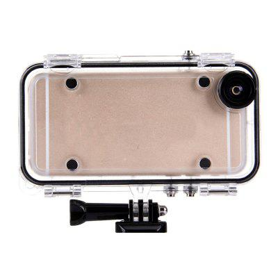 HAMTOD 170 Degree Wide Angle Camera Lens with Waterproof Case for iPhone 6 / 6s