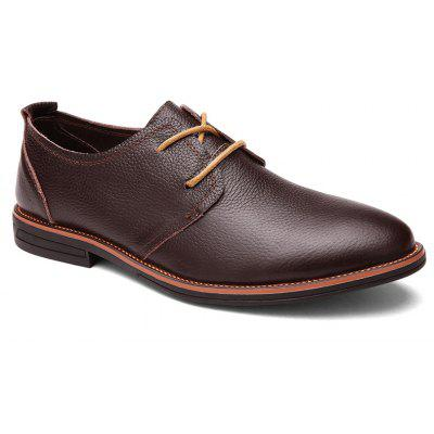 Business Leder Schuhe Freizeit Lace-Up