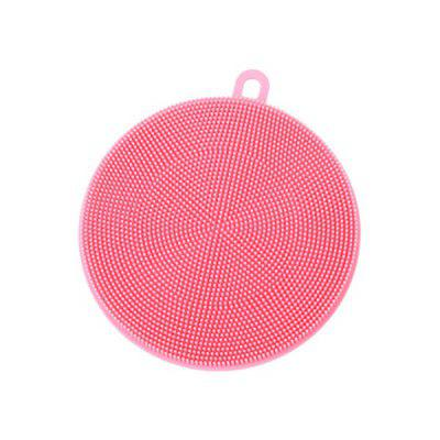 Hoard Silicone Dish Washing Sponge Kitchen Scrubber Soft Cleaning Spazzola antibatterica