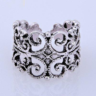 New Product Exaggeration Pierced Flower Men's Rings new