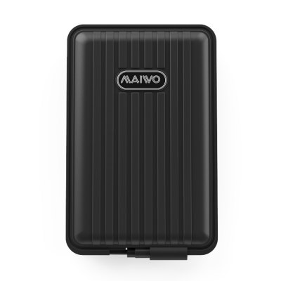 maiwo K2529C 2.5 inch Type-c/USB3.0 Rugged Waterproof and Shockproof IP66 External Hard  Enclosure