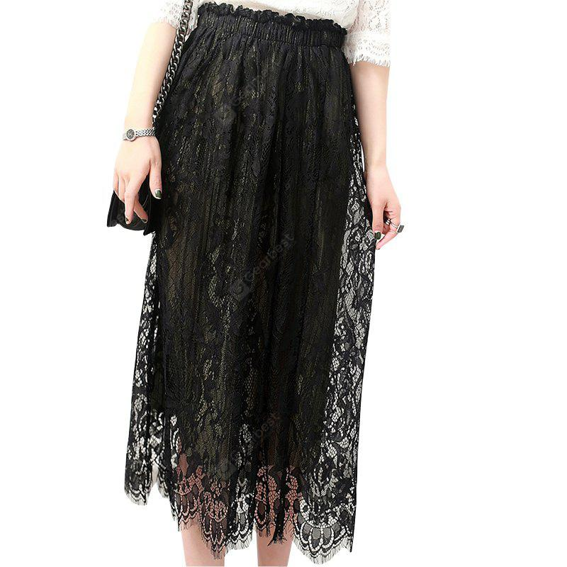 Fashion Pure Lace Bust Skirt