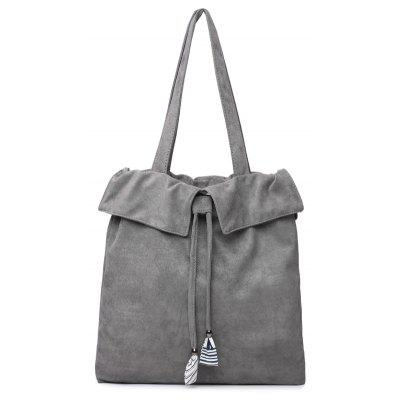 Casual and Simple Pure Color Handbag