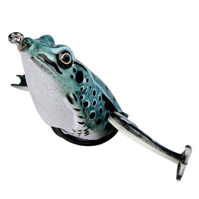 Floating Imitation Legs PVC Material Frog Popping Fishing Lure Soft Swimbait with Tackle Box for Bass Soft Bait SetsFishing Baits and Hooks<br>Floating Imitation Legs PVC Material Frog Popping Fishing Lure Soft Swimbait with Tackle Box for Bass Soft Bait Sets<br><br>Color: Multi-color<br>Length (mm): 55<br>Material: PVC<br>Package Contents: 1 x Plastic Bag, 1 x Soft Lure<br>Package size (L x W x H): 20.00 x 11.00 x 3.00 cm / 7.87 x 4.33 x 1.18 inches<br>Package weight: 0.0200 kg<br>Product size (L x W x H): 5.50 x 5.00 x 3.00 cm / 2.17 x 1.97 x 1.18 inches<br>Product weight: 0.0170 kg<br>Style: Frog<br>Type: Soft Bait
