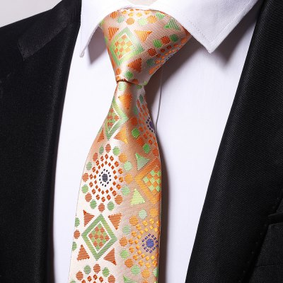 Fashion Accessory Mens Business Necktie Geometric Patterns Casual Comforty TieTies &amp; Cufflinks<br>Fashion Accessory Mens Business Necktie Geometric Patterns Casual Comforty Tie<br><br>Group: Adult<br>Length(CM): 145cm<br>Material: Microfiber<br>Package Contents: 1 ? Necktie<br>Package weight: 0.0600 kg<br>Pattern Type: Geometric<br>Product weight: 0.0500 kg<br>Style: Casual<br>Type: Neck Tie<br>Width(CM): 8