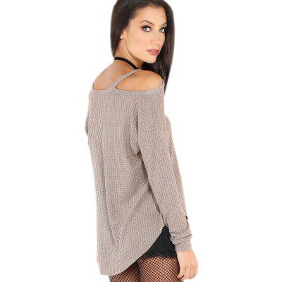 Quick Sell The New European and American Foreign Trade Women'S Wear A Long Sleeve Knit Sweater