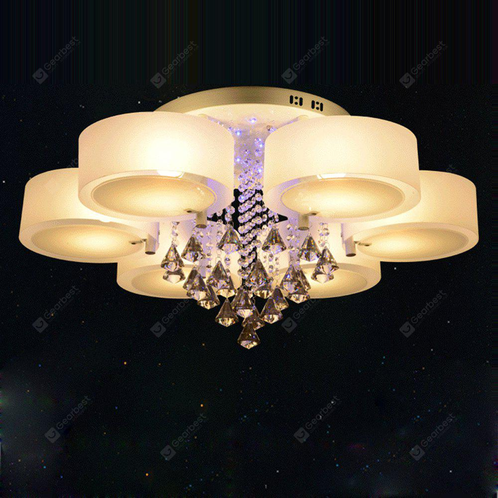 Lazada 60W E27 Modern Crystal Ceiling Light with Flush Mount for ...