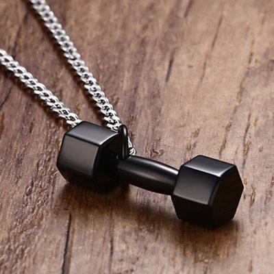 Men s Pendant Fashion Personality Stainless Steel Dumbbells Barbell Fitness Sports JewelryMens Jewelry<br>Men s Pendant Fashion Personality Stainless Steel Dumbbells Barbell Fitness Sports Jewelry<br><br>Gender: For Men<br>Item Type: Chains Necklaces<br>Length of Chain: 60cm<br>Metal Type: Stainless Steel<br>Package Contents: 1 x Necklace<br>Package size (L x W x H): 7.00 x 5.00 x 0.50 cm / 2.76 x 1.97 x 0.2 inches<br>Package weight: 0.1200 kg<br>Style: Punk