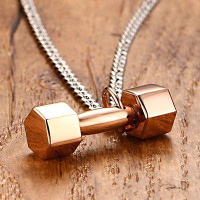 Men s Pendant Fashion Personality Stainless Steel Dumbbells Barbell Fitness Sports JewelryMens Jewelry<br>Men s Pendant Fashion Personality Stainless Steel Dumbbells Barbell Fitness Sports Jewelry<br><br>Gender: For Men<br>Item Type: Chains Necklaces<br>Length of Chain: 60cm<br>Metal Type: Stainless Steel<br>Package Contents: 1 x Necklace<br>Package weight: 0.1200 kg<br>Style: Punk