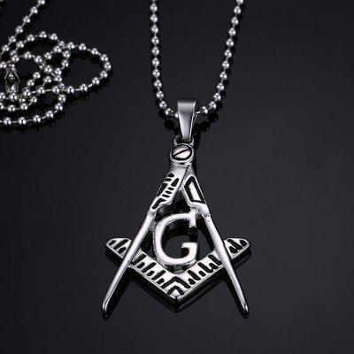 Titanium Masonic Pendant Necklace Mens Religion Stainless Steel JewelryMens Jewelry<br>Titanium Masonic Pendant Necklace Mens Religion Stainless Steel Jewelry<br><br>Gender: For Men<br>Item Type: Chains Necklaces<br>Length of Chain: 60cm<br>Metal Type: Stainless Steel<br>Package Contents: 1 x Necklace<br>Package size (L x W x H): 7.00 x 5.00 x 0.50 cm / 2.76 x 1.97 x 0.2 inches<br>Package weight: 0.1050 kg<br>Shape/Pattern: Geometric<br>Style: Vintage