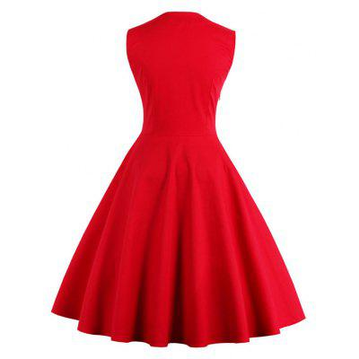 Vintage 50S 60S Rockabilly Dot Swing Summer Female Dresses Elegant Tunic Vestid Dress  VestidWomens Dresses<br>Vintage 50S 60S Rockabilly Dot Swing Summer Female Dresses Elegant Tunic Vestid Dress  Vestid<br><br>Dresses Length: Knee-Length<br>Elasticity: Micro-elastic<br>Fabric Type: Jersey<br>Material: Polyester<br>Neckline: Lapel<br>Package Contents: 1xDress<br>Pattern Type: Polka Dot<br>Season: Fall, Winter<br>Silhouette: A-Line<br>Sleeve Length: Sleeveless<br>Style: Vintage<br>Weight: 0.3500kg<br>With Belt: No
