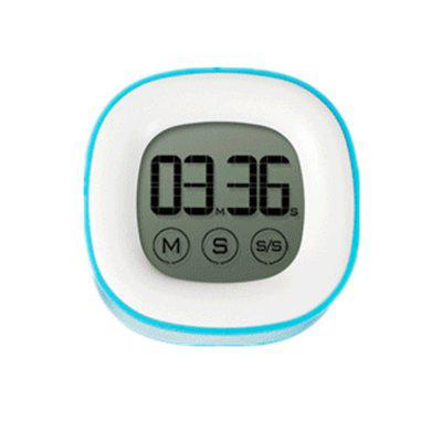 Electronic Liquid Crystal Touch Electronic Timer Blue