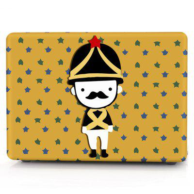 Computer Shell Laptop Case Keyboard Film for MacBook New Pro 15.4  inch Touch 2016 3D Small Soldier
