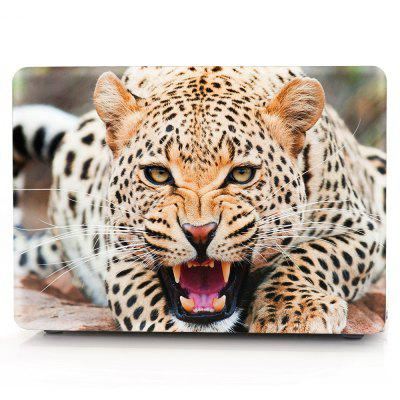 Computer Shell Laptop Case Keyboard Film for MacBook New Pro 13.3 inch Touch 2016 3D Wild Leopard