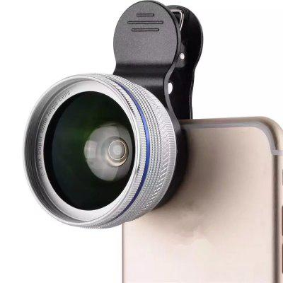 Phone Camera Lens  2 in 1 Professional HD Camera Lens Kit [0.45X Wide Angle+12.5X Macro] Clip-On Design for Smartphones