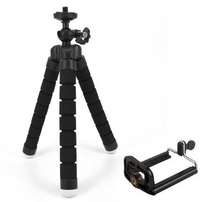 Octopus Style Portable and Adjustable Tripod Stand Holder for Cellphone Camera with Universal