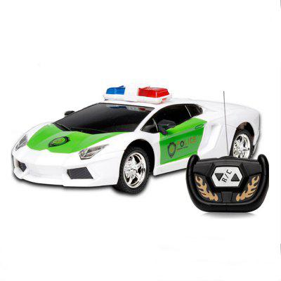 wireless remote control rc police car truck kid toy birthday gift