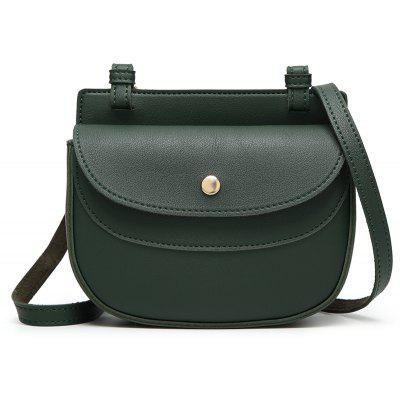 Ladies Classic Cover-Covered Magnetic Crossbody bag