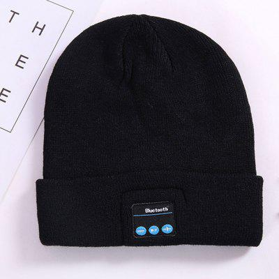 Newest  Smart Cap Headset Warm Winter Knitted Hats Sports Music Bluetooth Headset Hat