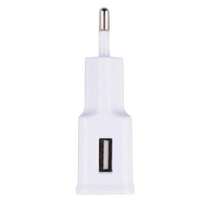 EU Plug Adapter 5V 2A USB Mobile Phone Wall ChargeriPhone Cables &amp; Adapters<br>EU Plug Adapter 5V 2A USB Mobile Phone Wall Charger<br><br>Package Contents: 1 x Phone Charger<br>Package size (L x W x H): 7.00 x 4.00 x 3.00 cm / 2.76 x 1.57 x 1.18 inches<br>Package weight: 0.0280 kg