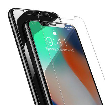 Ultra Thin 9H HD Anti Fingerprint 2.5D Screen Protector Film Tempered Glass for iPhone X