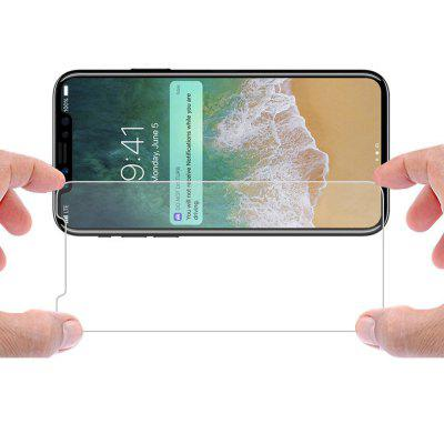 Clear Screen Protector Tempered Glass Film for iPhone X
