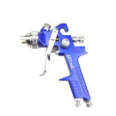 Professional HVLP Spray Gun 1.7MM Nozzle with 600ml Pot for Painting Car Repair Tool Kit