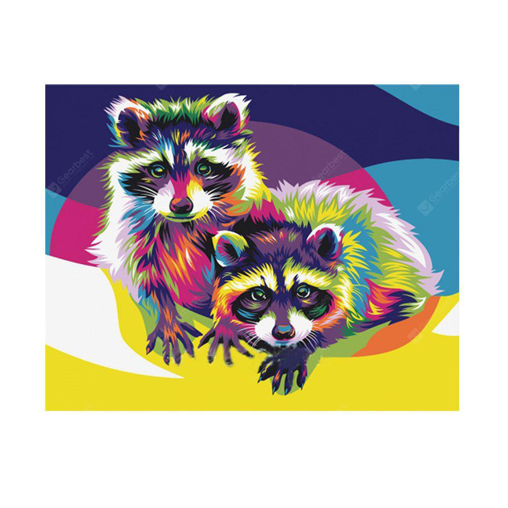 Lovely Colored Small Bowl Bear Prints Diamond Paintings