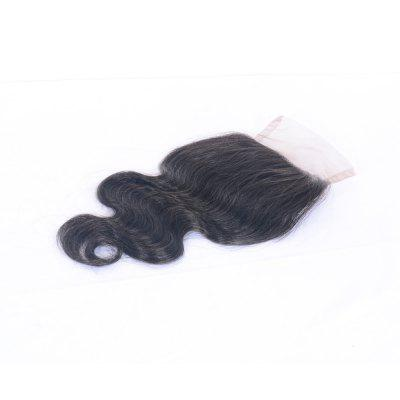 100% Human Hair Body Wave Lace Closure Sew In 4x4 Virgin Brazilian Hair Pieces for Women 8-20 Inches Natural Color 60 hanks stallion violin horse hair 7 grams each hank 32 inches in length