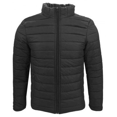 Winter Wear Men'S Men'S Clothing Line of Pure Color Fashion and Simple Extra Thick Warm and Short Cotton Clothes Coat