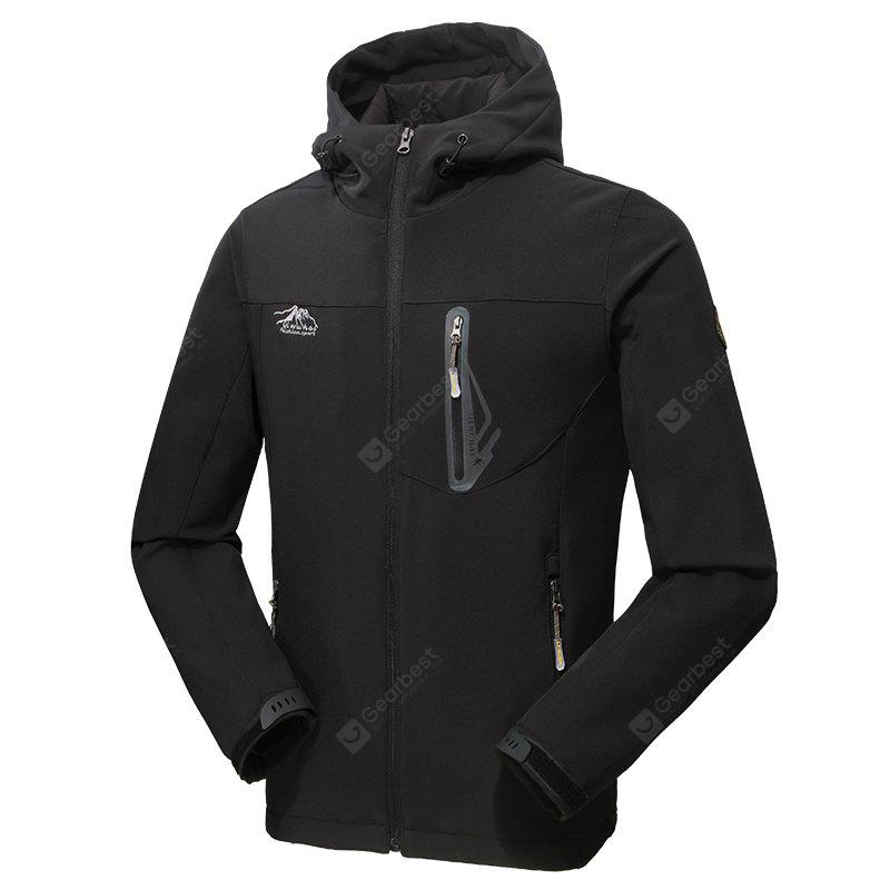 2017 Causal Sports Water Proof Softshell Manteau pour hommes