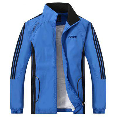 2017 New Autumn Fashion Sports SuitMens Jackets &amp; Coats<br>2017 New Autumn Fashion Sports Suit<br><br>Clothes Type: Trench<br>Materials: Polyester<br>Package Content: 1 x Coat 1 x Pants<br>Package size (L x W x H): 1.00 x 1.00 x 1.00 cm / 0.39 x 0.39 x 0.39 inches<br>Package weight: 1.0000 kg<br>Size1: L,XL,4XL,2XL,3XL,5XL