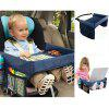 Kids Car Seat Travel Play Tray - DEEP BLUE